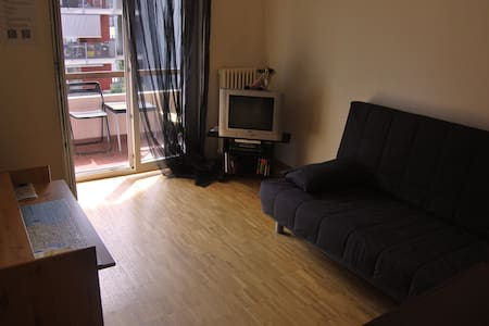 A room with balcony near the city centre of Lugano - Lugano - Byt