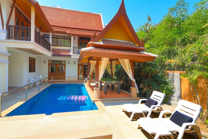 3-bedroom villa near to the beach