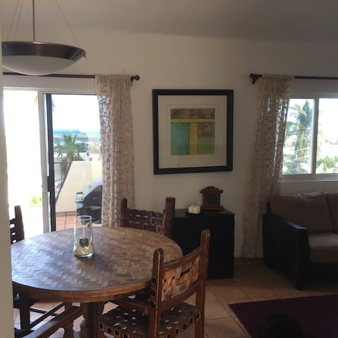 Penthouse unit with private patio and ocean views - San José del Cabo