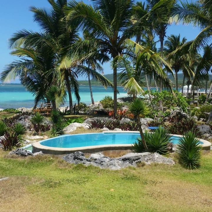 Villa cocos island les pieds dans l'ocean.