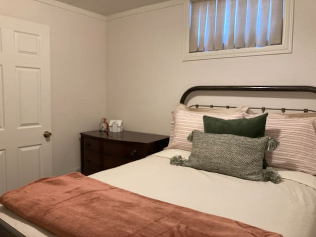 Third bedroom, located downstairs