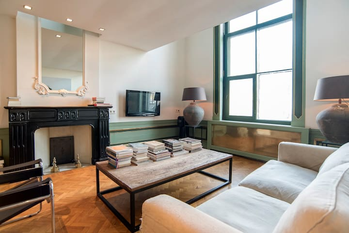 Room in Historic Canal House in centre - Ámsterdam - Departamento