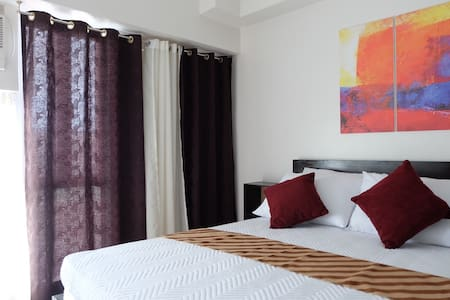B-NEW 1BR condo w/WI-FI,cable& pool - Tagaytay