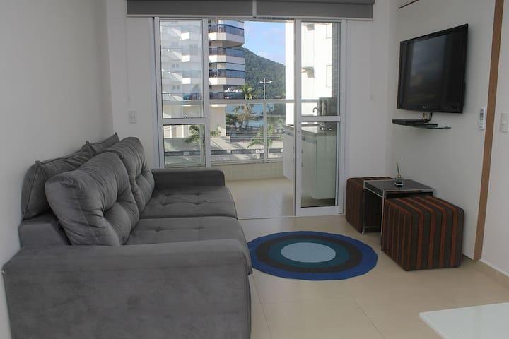 Apartamento Pé na areia praia Martin de Sa