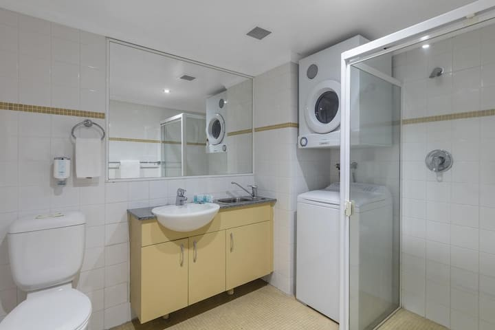 Bathroom, walk-in shower