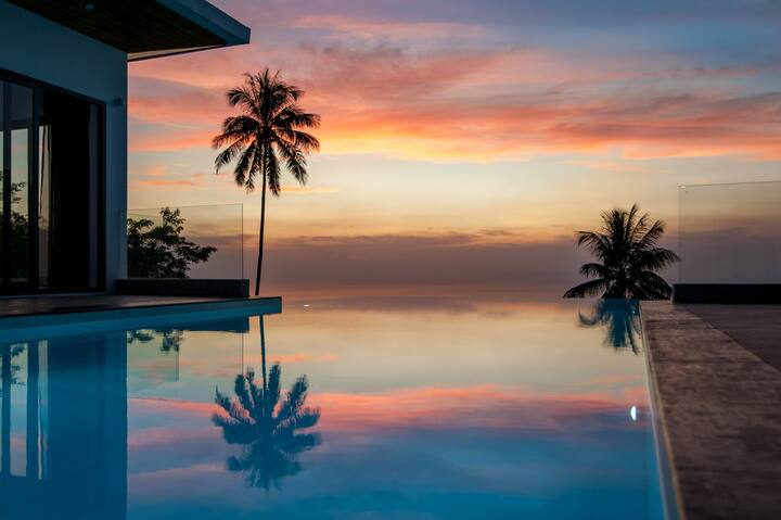 Stunning Sunset/Panoramic Seaview/Infinity Pool