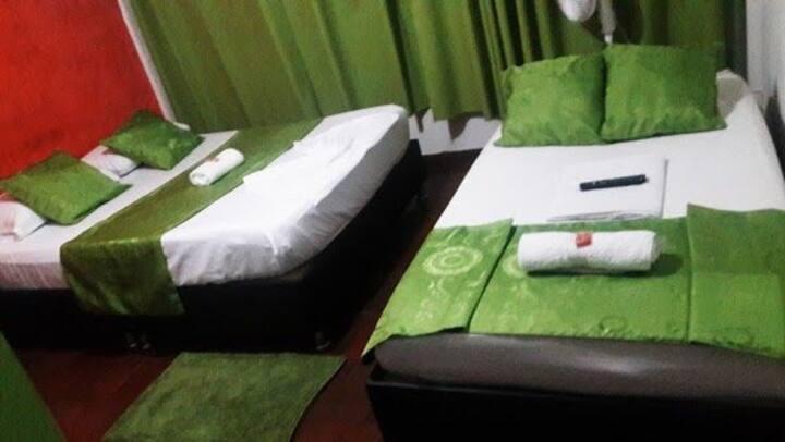 Cómodas habitaciones ideal para tu descanso