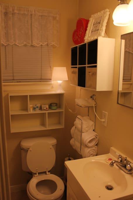 Small, quaint bathroom