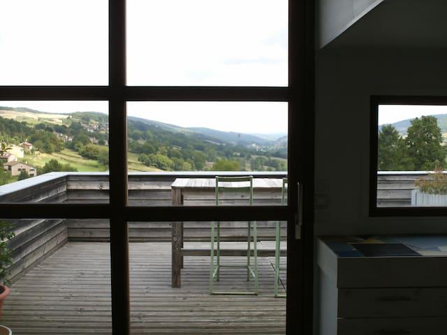 LA TERRASSE DU TRAMAYON Duplex 100m²+Terrasse 25m²