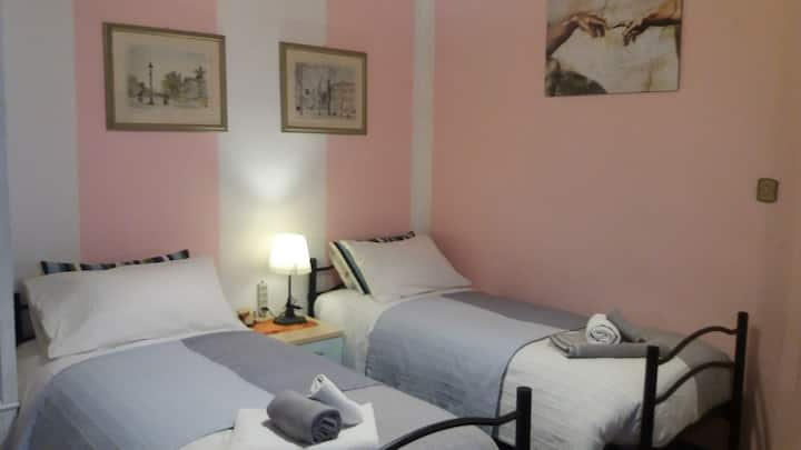 Cozy single or double room in Pisa center (Young)