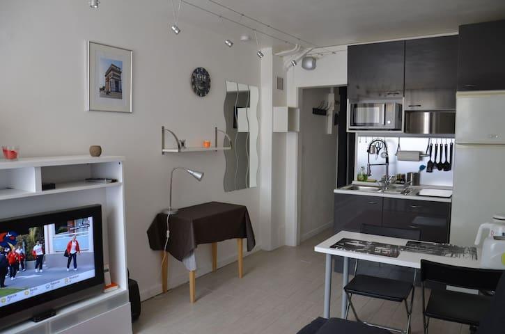 Charmant studio proche de Paris - Vanves - Apartment