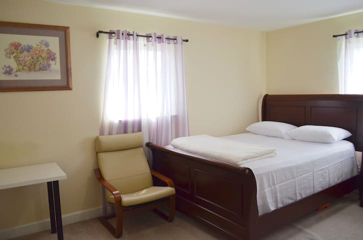 1-Large Bedroom in charming NOVA house by Metro/DC