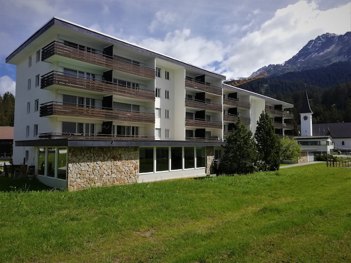 Confortevole 2.5 Locali Haus Rhodania Lenzerheide