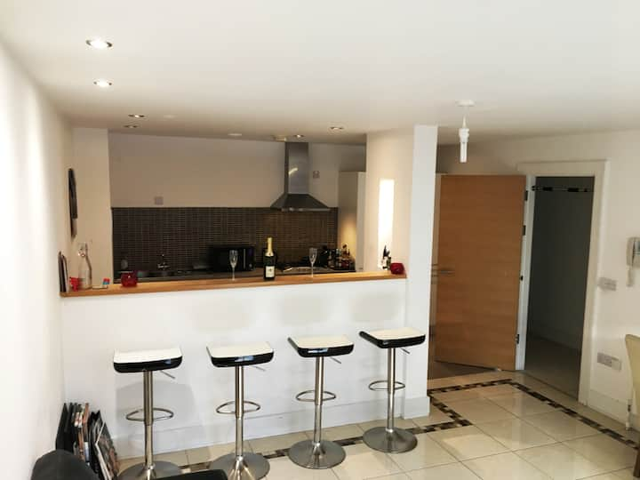 Smart (in heart of)city centre apt, views, parking