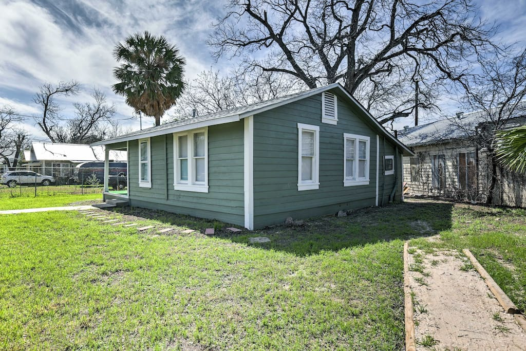 The home is just 1.5 miles from downtown!