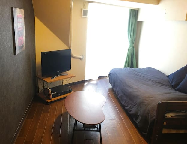 Simple Relax Room in Shibuya+Wi-Fi - 渋谷区 - Apartment