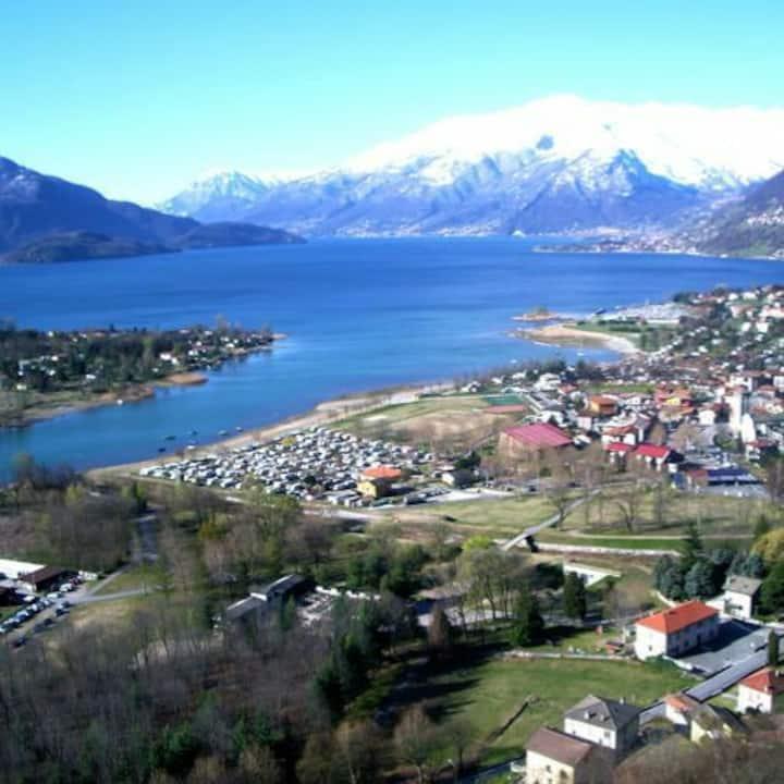 Casa Eden Rustico vista Lago Como