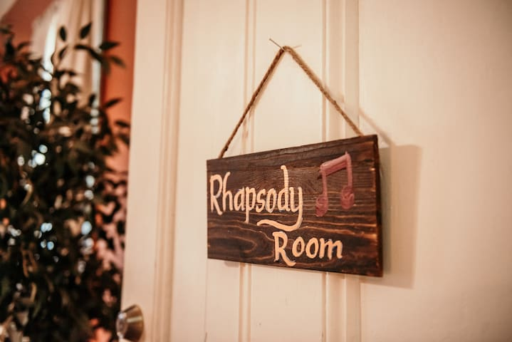 Historic Rhapsody Room - Downtown Lafayette