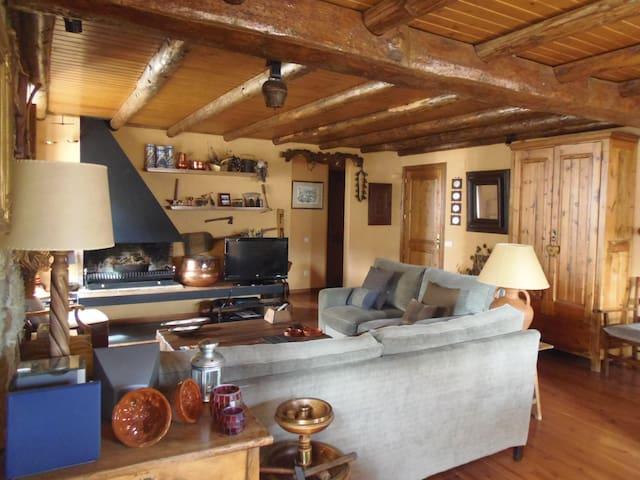 Casa con encanto muy acogedora - Bolvir - Apartament