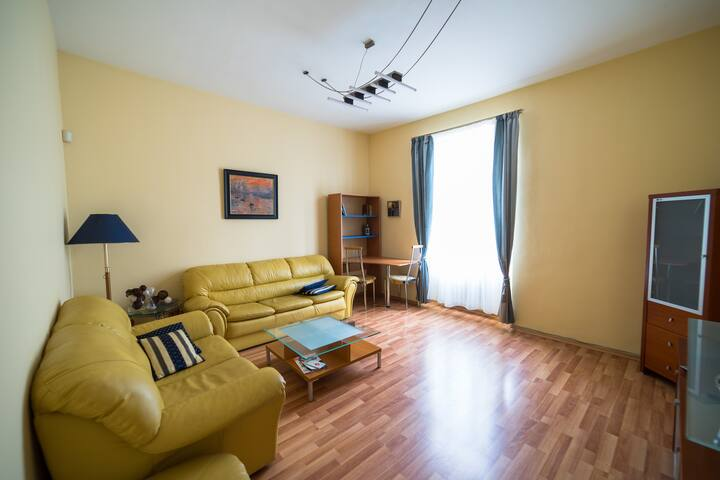 Bright and spacious apartment at amazing location