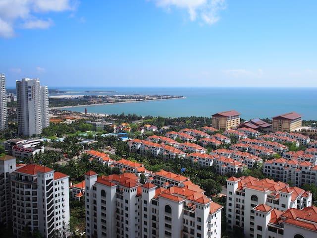 高楼层-海景房-两卧室 - Wenchang - Pis