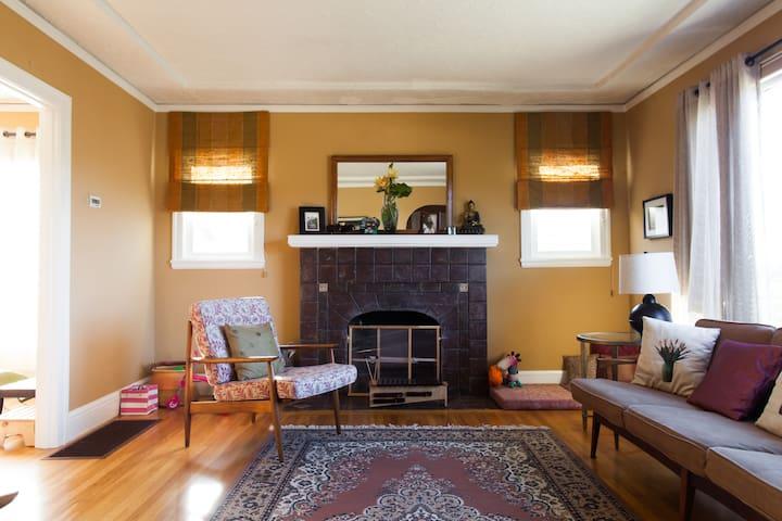 Sunny room off Piedmont Ave - Piedmont - Rumah