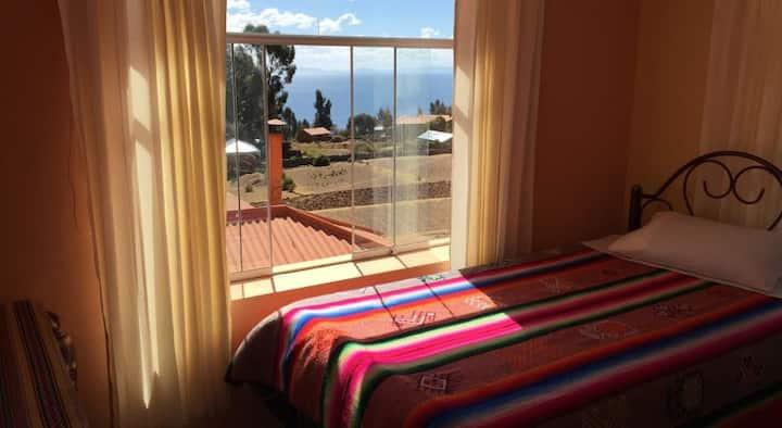 Private Room in Hotel Amantani