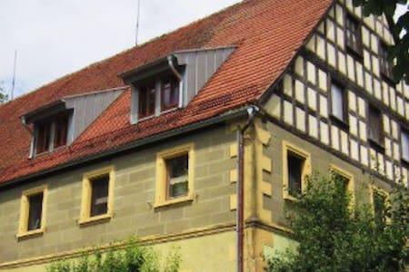 Ländliches Fachwerkhaus - Feuchtwangen  - Çatı Katı