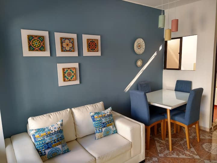 Acogedor y cómodo apartamento