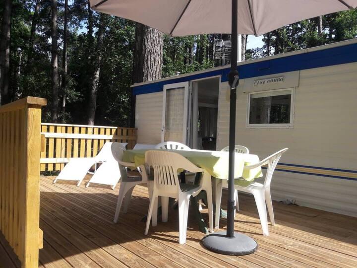 CASA GOMBO - Mobil-Home Camping Sainte-Brigitte 4*