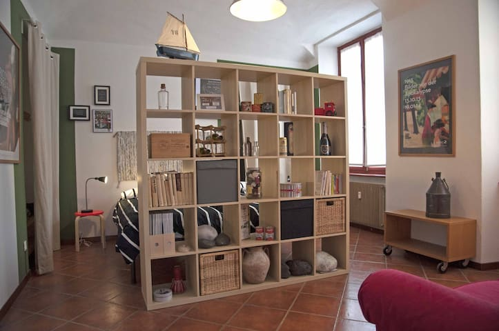 Biella downtown, cheerful and bright two-room flat - Biella