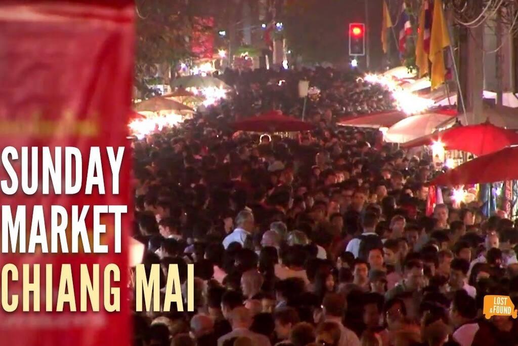 SATURDAY NIGHT MARKET & SUNDAY MARKET near your House, just a short walk!!