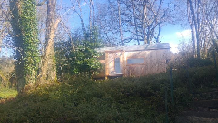 Tiny  house dans nature, au bord de l'eau au calme