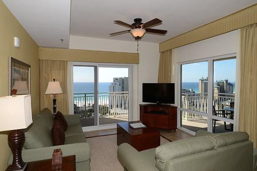 Gorgeous View from Living Area