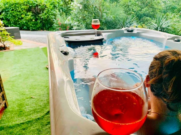 Villa avec spa privatif Nice côte d'Azur