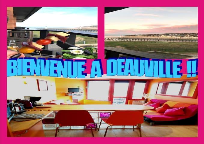 Studio 3 pers Vue Mer Terrasse Près Centre Plage !