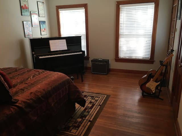 Private Room in Gilmer - The Music Room - Gilmer - House