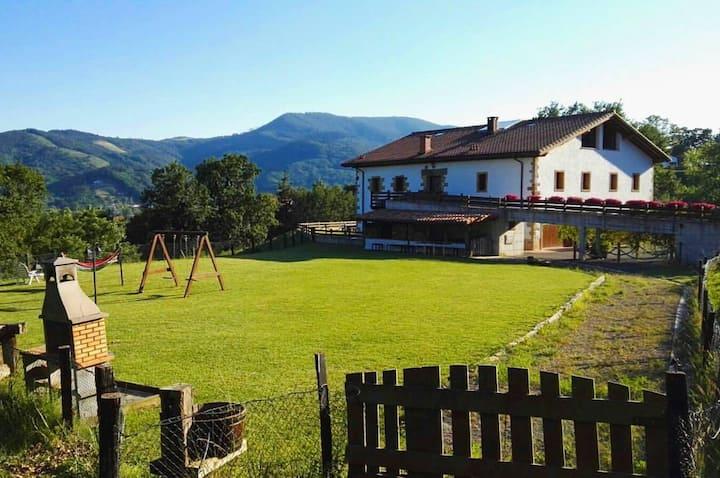 Casa Rural Troya a 10min de San Sebastian