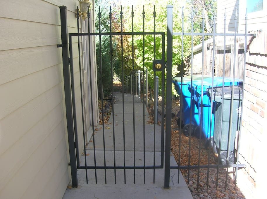 Your private entrance