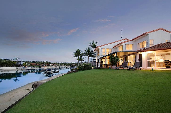 Large Waterfront Family Home