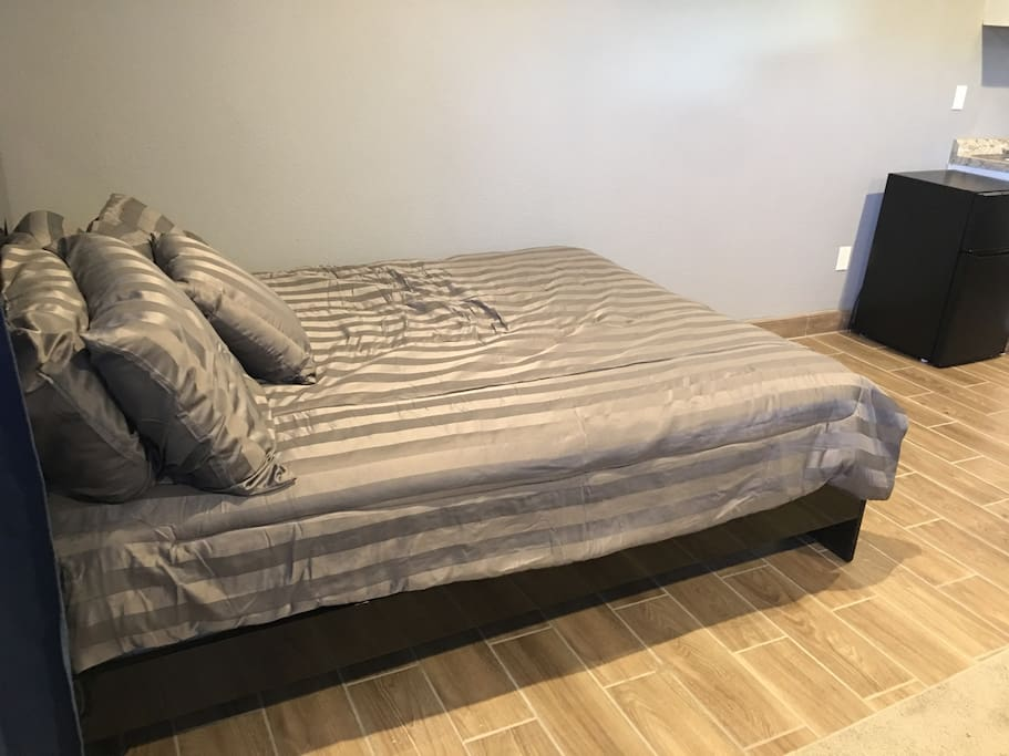 Queen bed available