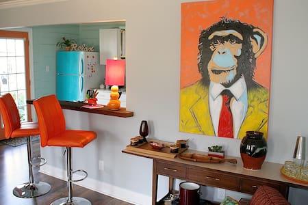 The Funky Monkey Cottage in Fondren!