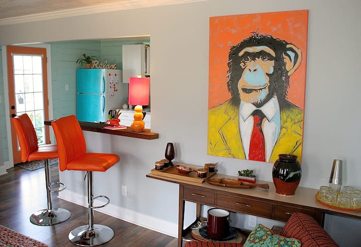 The Funky Monkey Cottage in Fondren!