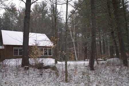 Private Room in Charming Adirondack Home - Wevertown - Ház