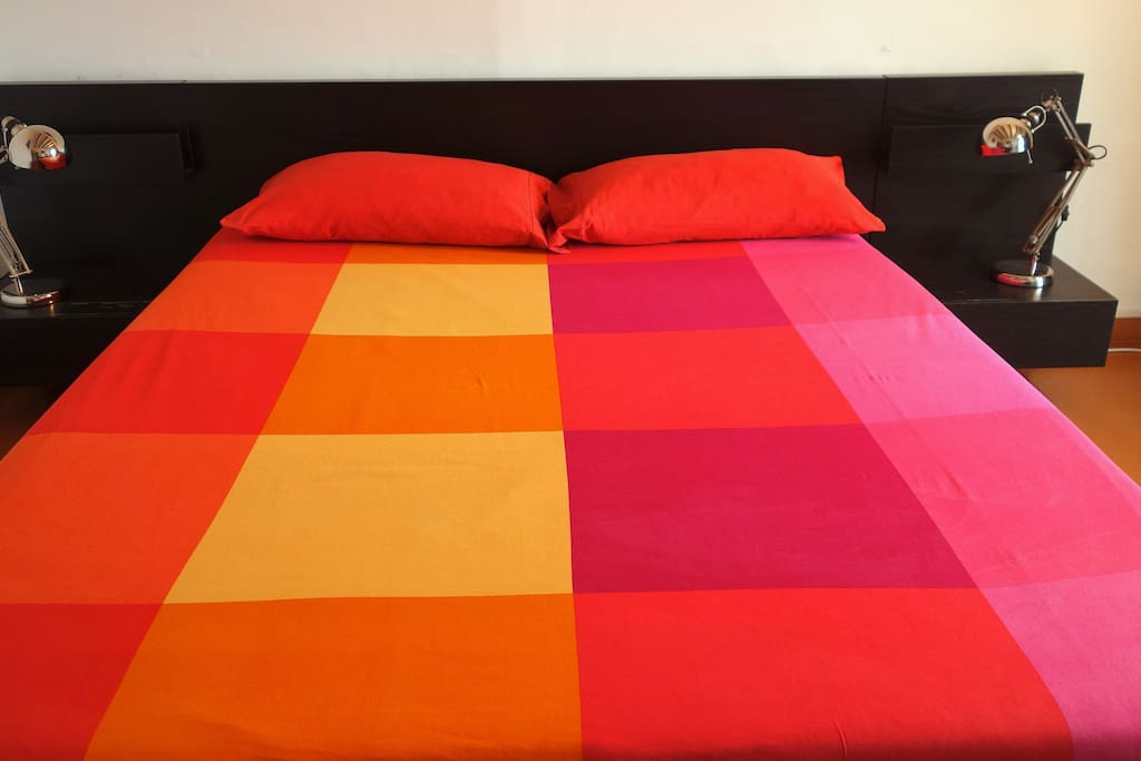 Very Comfortable Double Bed