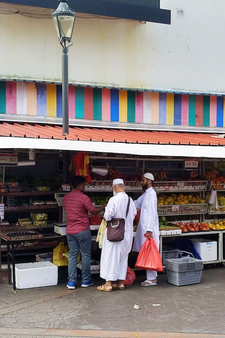 Green Grocer in Little India