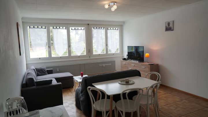 2 rooms large apartment in Crans-Montana