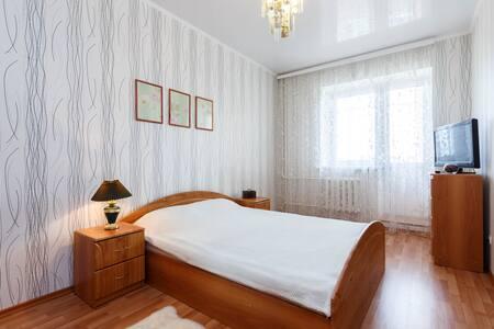 Уютные апартаменты на 15этаже - Казань