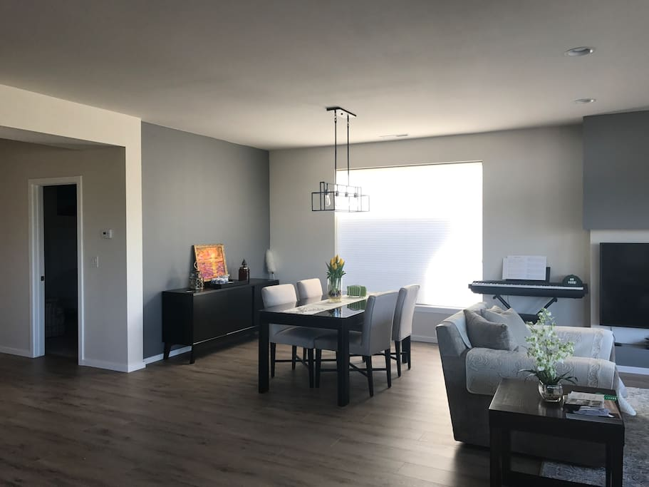 Living Room and dinning area