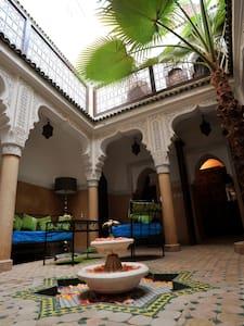 Un riad typique au coeur de la Médina - Marrakesh